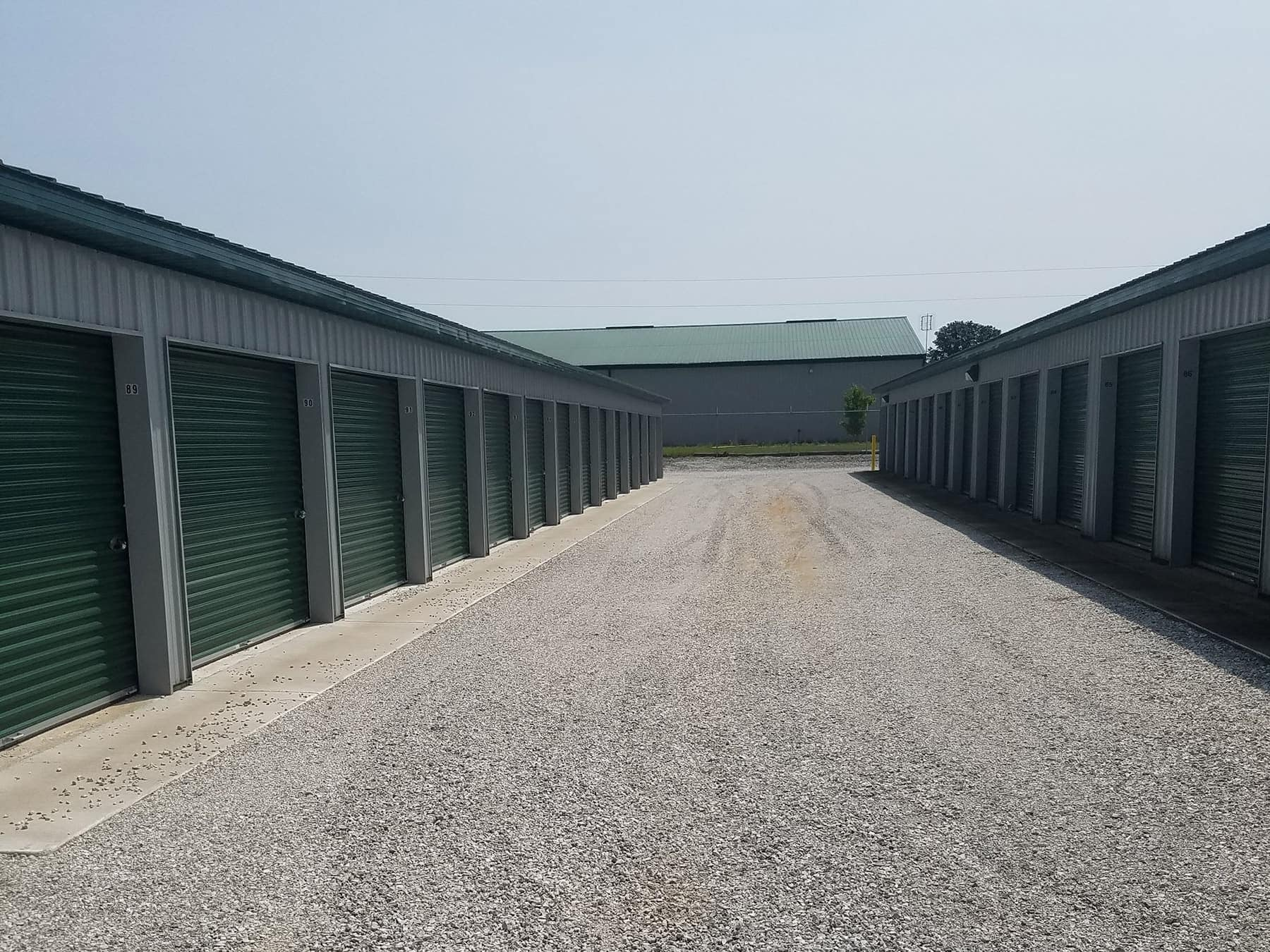 Clean & Maintained Storage Unit Rentals